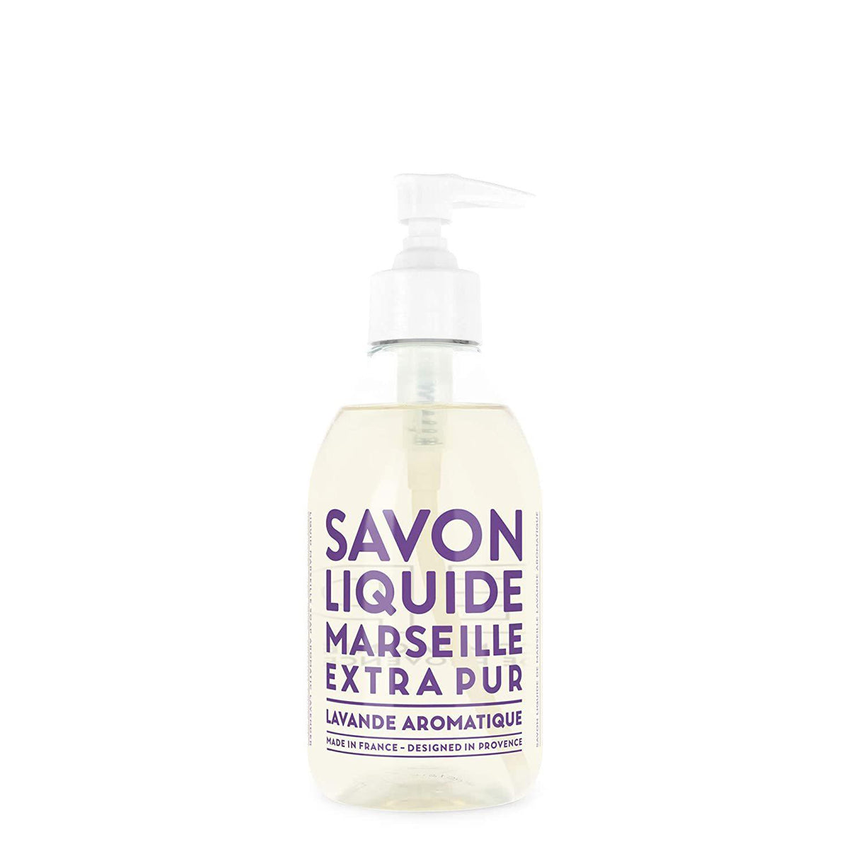 Compagnie de Provence Aromatic Lavender Liquid Marseille Soap 10 oz Plastic Bottle-Compagnie de Provence Savon de Marseille-Oak Manor Fragrances