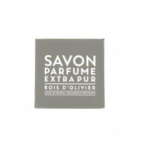Compagnie de Provence Olive Wood Scented Soap 3.5 oz Bar-Compagnie de Provence Savon de Marseille-Oak Manor Fragrances