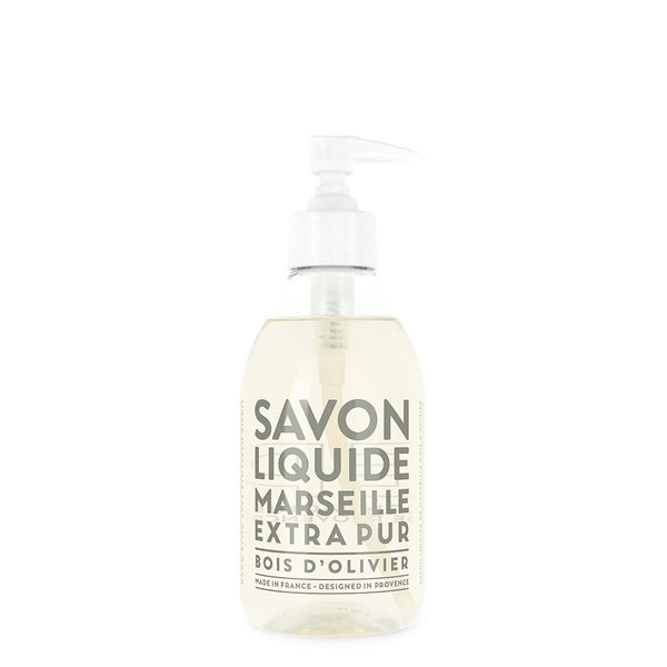 Compagnie de Provence Olive Wood Liquid Marseille Soap 10 oz Plastic Bottle-Compagnie de Provence Savon de Marseille-Oak Manor Fragrances