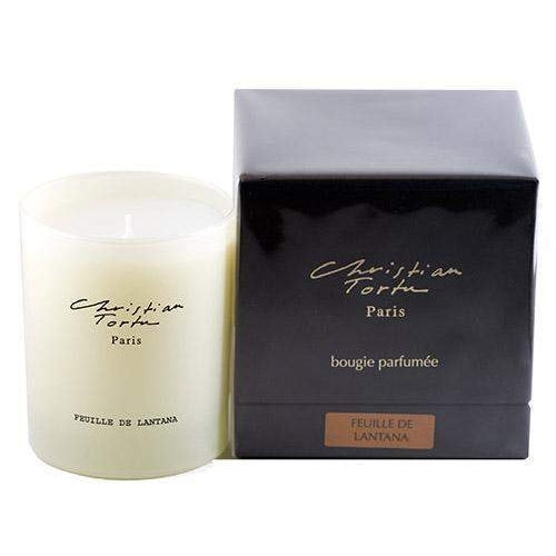 Christian Tortu Feuille de Lantana (Lantana Leaf) 190 Gram Candle-Christian Tortu-Oak Manor Fragrances