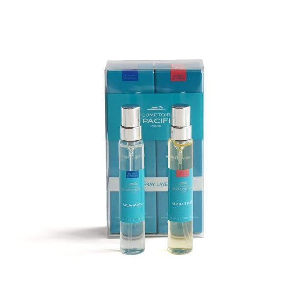 Comptoir Sud Pacifique Layering Duo Aqua Motu and Aloha Tiara-Comptoir Sud Pacifique-Oak Manor Fragrances
