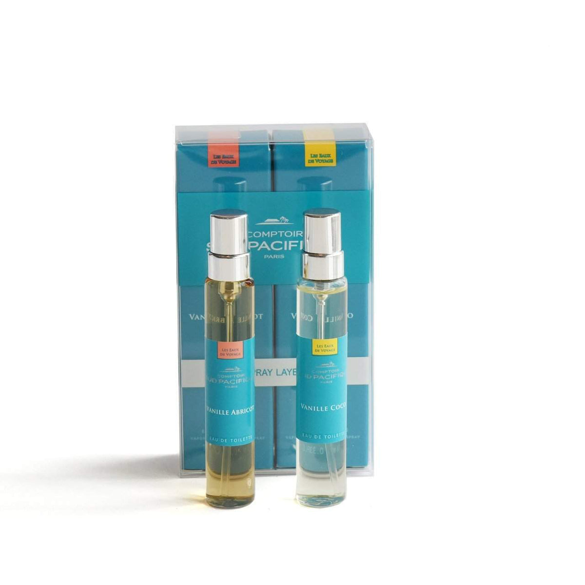 Comptoir Sud Pacifique Layering Duo Vanille Abricot and Vanille Coco-Comptoir Sud Pacifique-Oak Manor Fragrances