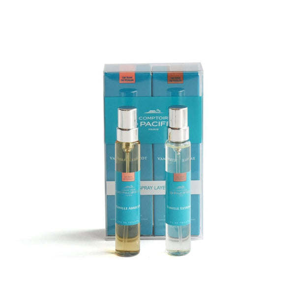 Comptoir Sud Pacifique Layering Duo Vanille Abricot and Vanille Extreme-Comptoir Sud Pacifique-Oak Manor Fragrances