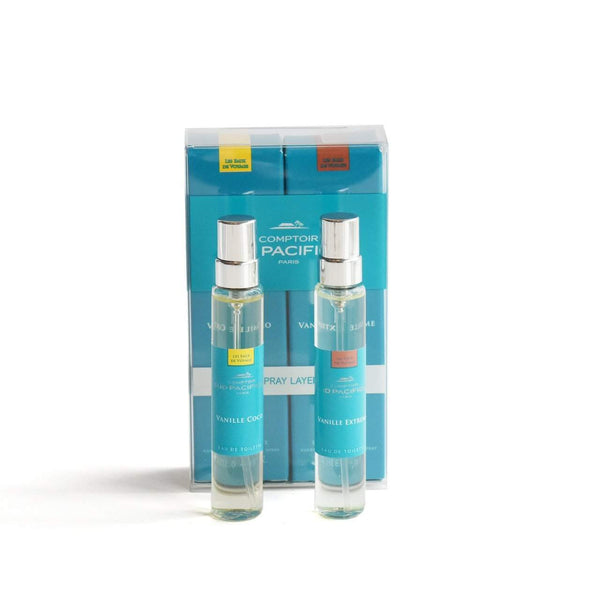 Comptoir Sud Pacifique Layering Duo Vanille Coco and Vanille Extreme Duo-Comptoir Sud Pacifique-Oak Manor Fragrances