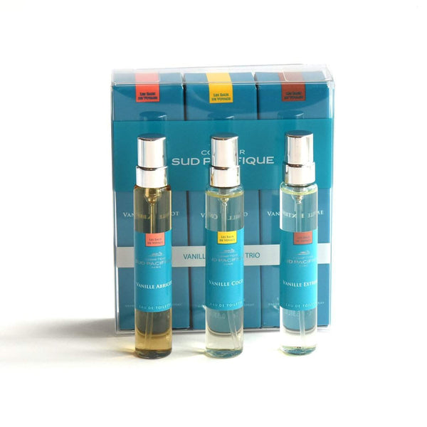 Comptoir Sud Pacifique Vanille Layering Trio 3x 10ml Sprays-Comptoir Sud Pacifique-Oak Manor Fragrances