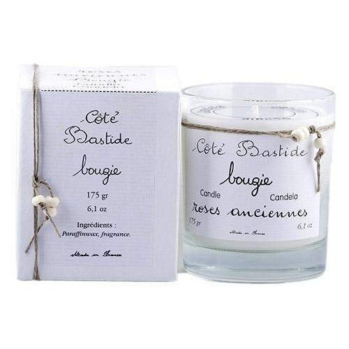 Cote Bastide Old Rose Candle in Glass Jar (With Box)-Cote Bastide-Oak Manor Fragrances