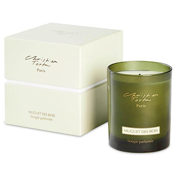Christian Tortu Muguet des Bois (Lily of the Valley) 190 Gram Candle-Christian Tortu-Oak Manor Fragrances