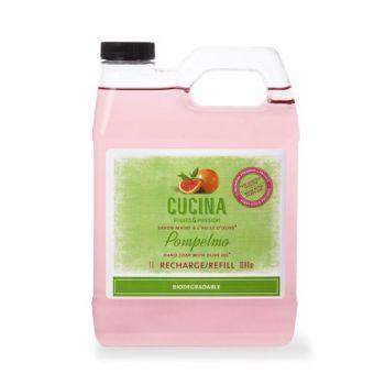 Cucina Pompelmo with Olive Oil Hand Soap Refill-Fruits and Passion Cucina-Oak Manor Fragrances