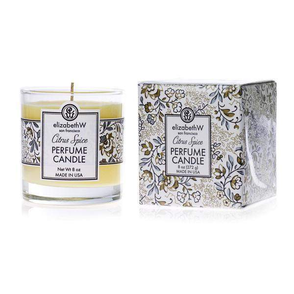 Elizabeth W Citrus Spice Holiday Candle 8 oz-Elizabeth W-Oak Manor Fragrances