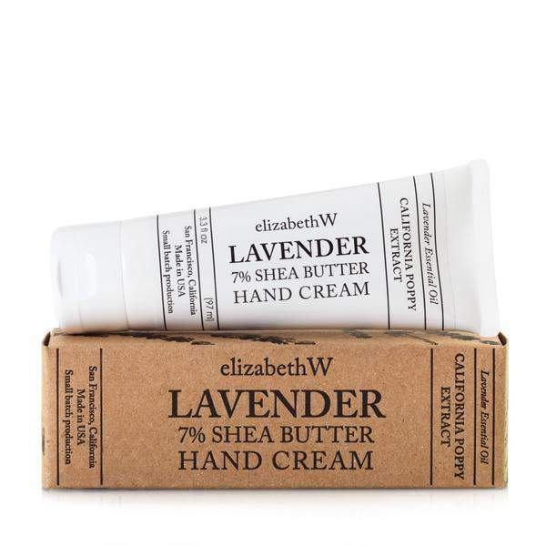 Elizabeth W Lavender Hand Cream-Elizabeth W-Oak Manor Fragrances