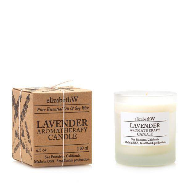 Elizabeth W Lavender Perfume Candle-Elizabeth W-Oak Manor Fragrances