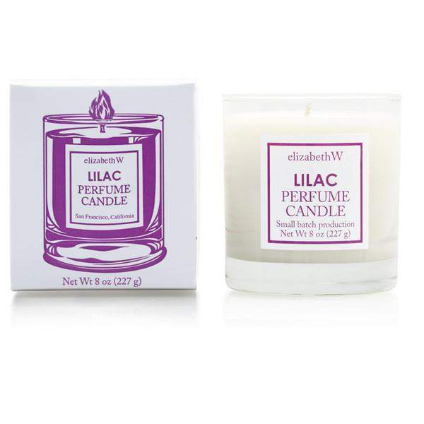 Elizabeth W Lilac Perfume Candle 8 oz-Elizabeth W-Oak Manor Fragrances