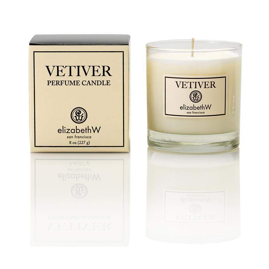 Elizabeth W Perfume Candle Vetiver-Elizabeth W-Oak Manor Fragrances