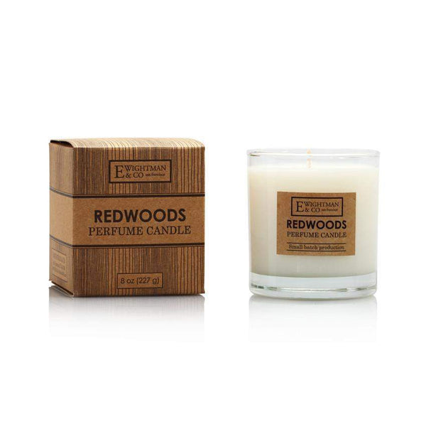 Elizabeth W Redwoods Perfume Candle 8 oz-Elizabeth W-Oak Manor Fragrances