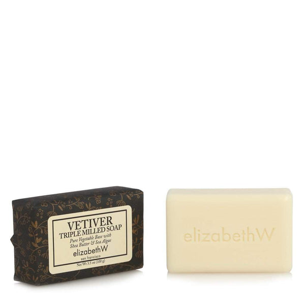 Elizabeth W Vetiver Triple-Milled 3.5 oz Soap-Elizabeth W-Oak Manor Fragrances