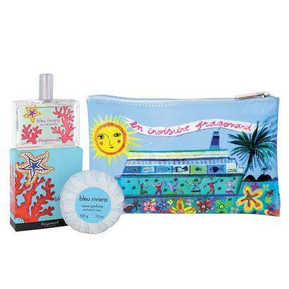 en Croisiere avec Fragonard Parfumeur Bleu Riveria Gift Set-Fragonard Parfumeur-Oak Manor Fragrances