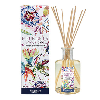 Fragonard Parfumeur Flower of the Year 2021 Fleur de la Passion Home Diffuser-Fragonard Parfumeur-Oak Manor Fragrances