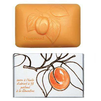 Fragonard Apricot Oil Perfumed Soap - Clementine 300 g-Fragonard Parfumeur-Oak Manor Fragrances
