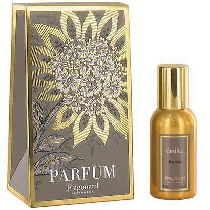 Fragonard Emilie Gold Bottle Parfum-Fragonard Parfumeur-Oak Manor Fragrances