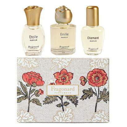 Fragonard Parfumeur 3 Parfum Gift Set-Fragonard Parfumeur-Oak Manor Fragrances