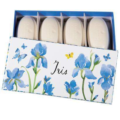 Fragonard Parfumeur Iris Gift Set of 4 Pebble Soaps-Fragonard Parfumeur-Oak Manor Fragrances