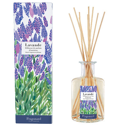Fragonard Flower of the Year 2019 Lavender (Lavande) Diffuser-Fragonard Parfumeur-Oak Manor Fragrances