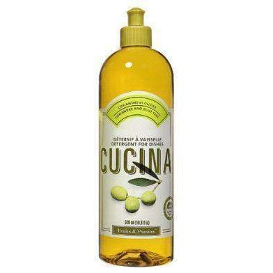 Fruits and Passion Cucina Coriander and Olive Tree Dish Detergent 500 ml-Fruits and Passion Cucina-Oak Manor Fragrances
