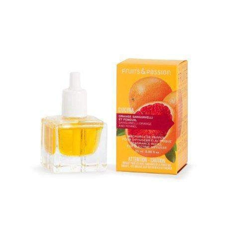 Fruits and Passion Cucina Sanguinelli Orange and Fennel Electric Diffuser Refill-Fruits and Passion Cucina-Oak Manor Fragrances