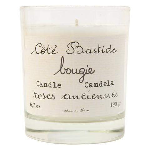Cote Bastide Old Rose Candle (no box)-Cote Bastide-Oak Manor Fragrances