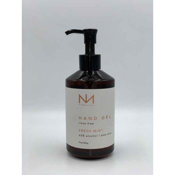 Niven Morgan Rinse Free Fresh Mint Hand Gel 9 oz (65% Alcohol)-Niven Morgan-Oak Manor Fragrances