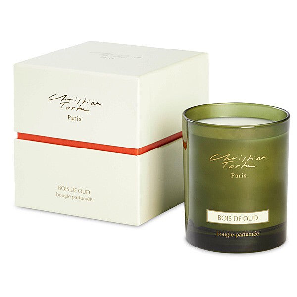 Christian Tortu Bois de Oude (Oud Wood) 190 Gram Candle-Christian Tortu-Oak Manor Fragrances