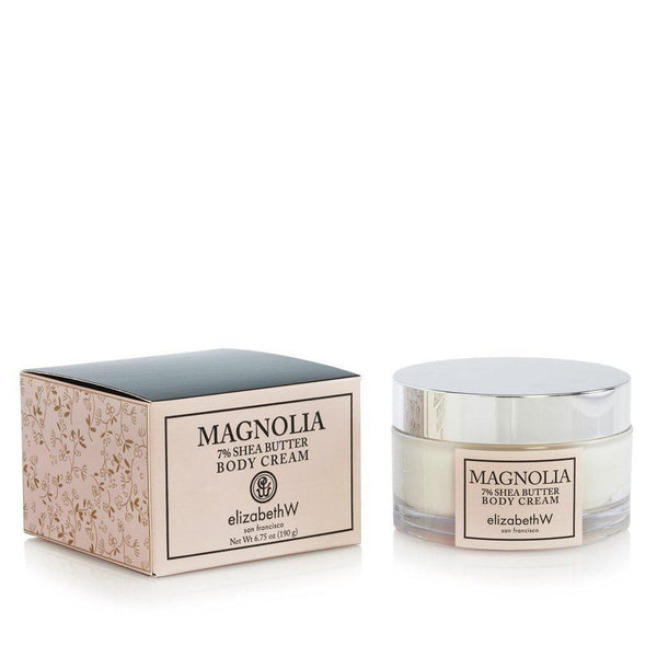 Elizabeth W Magnolia Body Cream 6.75 oz-Elizabeth W-Oak Manor Fragrances