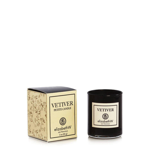 Elizabeth W Vetiver Petite Candle 3 oz-Elizabeth W-Oak Manor Fragrances
