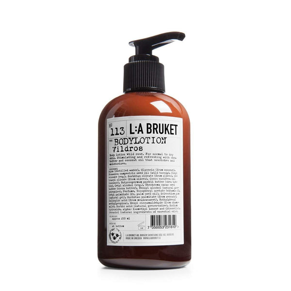 L:A Bruket No. 113 Body Lotion Wild Rose 250 ml-L:A Bruket-Oak Manor Fragrances