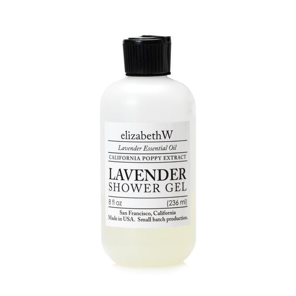 Elizabeth W Lavender Shower Gel 8 oz-Elizabeth W-Oak Manor Fragrances