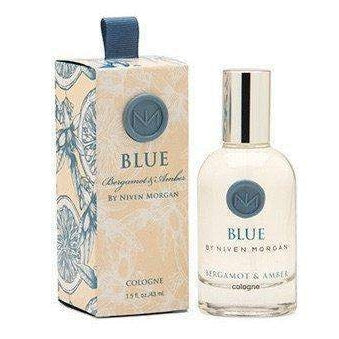 Niven Morgan Blue Cologne Spray 1.5 oz-Niven Morgan-Oak Manor Fragrances