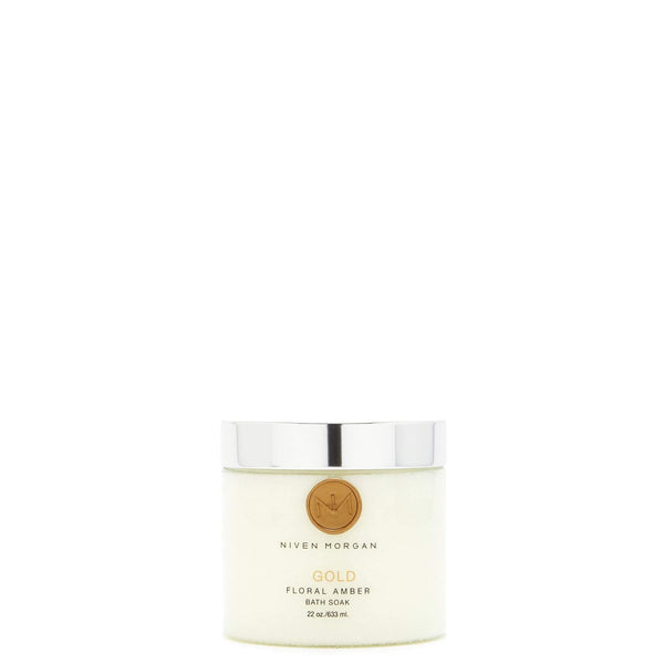 Niven Morgan Gold Bath Soak-Niven Morgan-Oak Manor Fragrances
