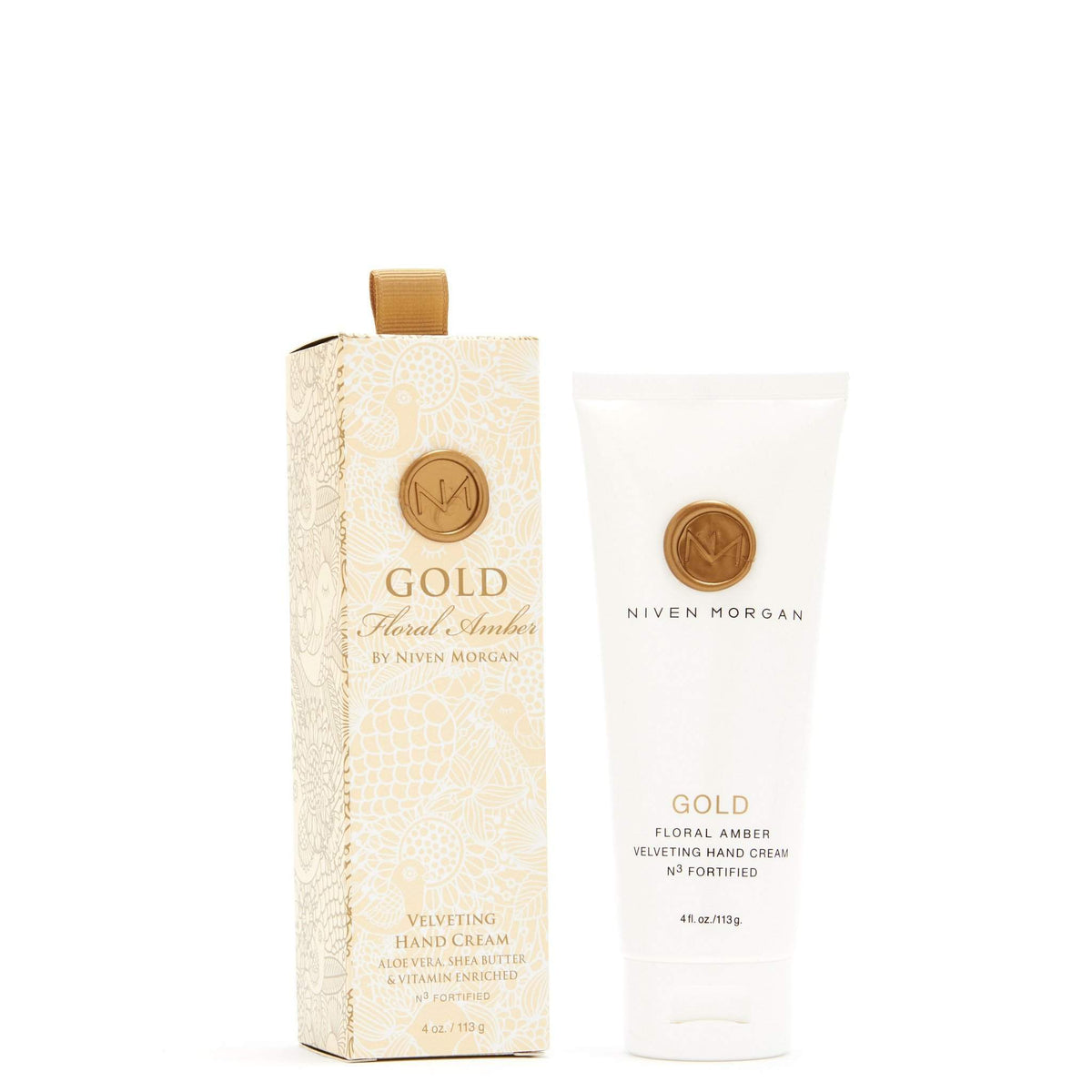 Niven Morgan Gold Hand Cream-Niven Morgan-Oak Manor Fragrances