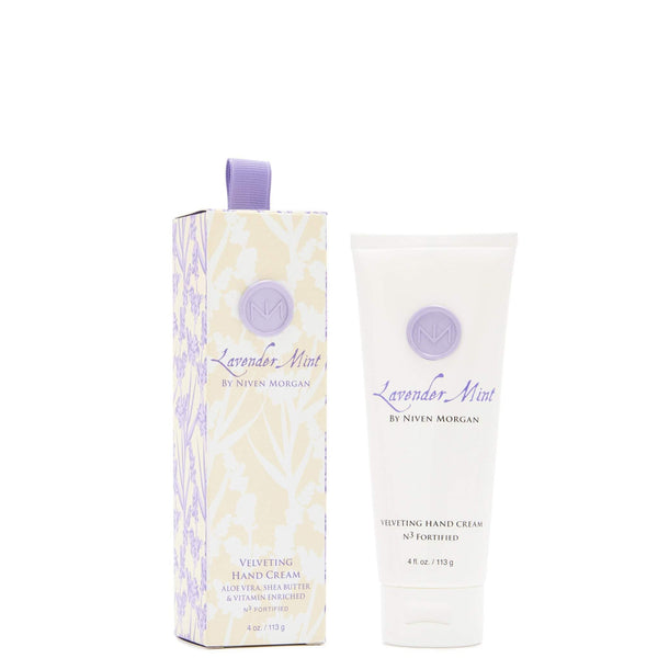 Niven Morgan Lavender Mint Hand Cream 4 oz-Niven Morgan-Oak Manor Fragrances