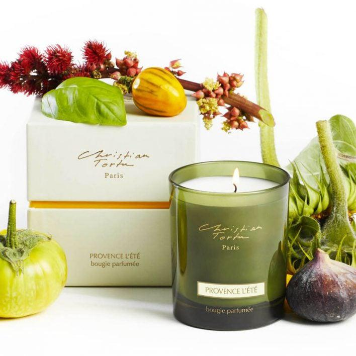 Christian Tortu Provence L'Ete (Provence in Summer) 190 Gram Candle-Christian Tortu-Oak Manor Fragrances