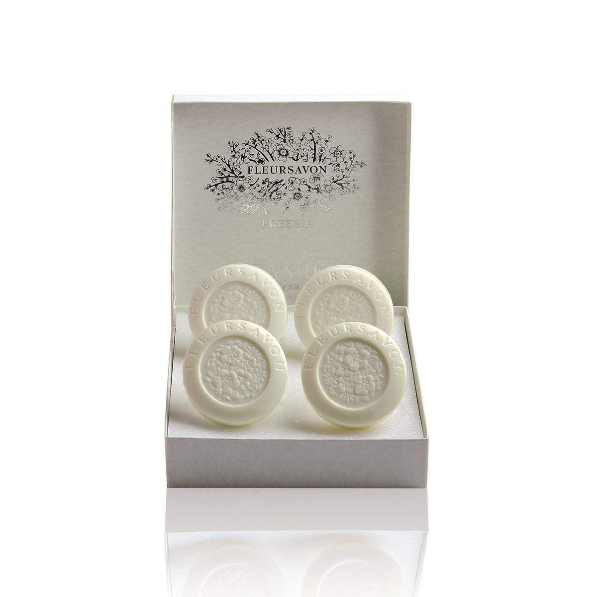 Rance Soaps Freesia Soap Box-Rance Soaps-Oak Manor Fragrances