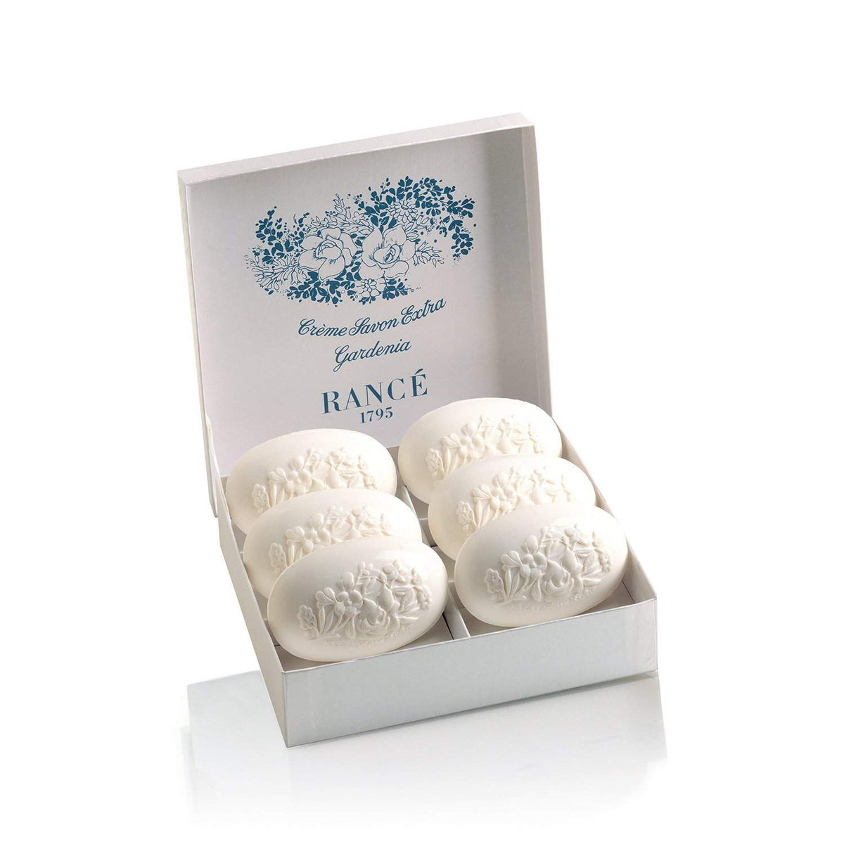 Rance Soaps Gardenia Soap Box-Rance Soaps-Oak Manor Fragrances