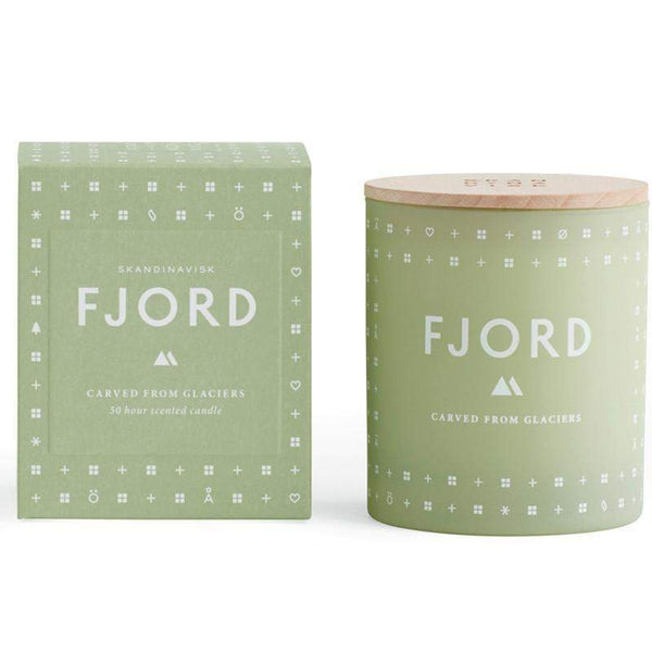 Skandinavisk 190 g Candle FJORD (Carved from Glaciers)-Skandinavisk-Oak Manor Fragrances