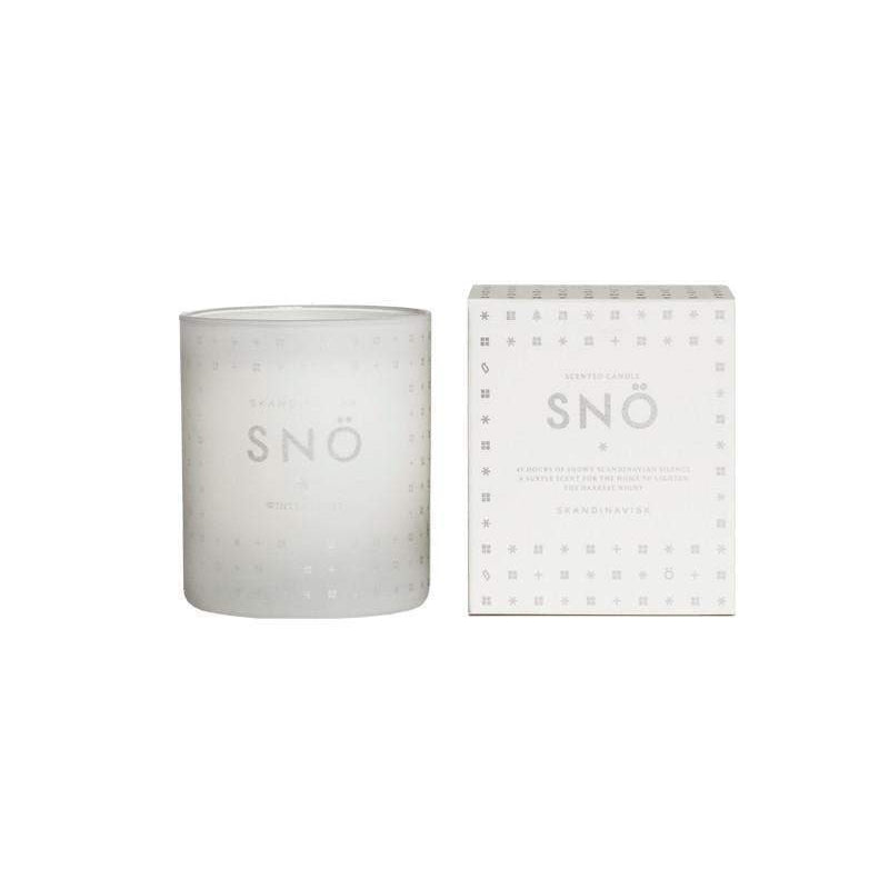 Skandinavisk 190 g Candle Sno (Snow)-Skandinavisk-Oak Manor Fragrances