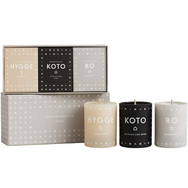 Skandinavisk Mini Candles Home Set-Skandinavisk-Oak Manor Fragrances