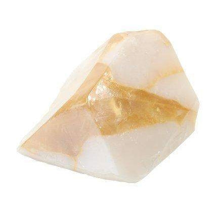 Soap Rock - Gold in Quartz-T.S. Pink SoapRocks-Oak Manor Fragrances