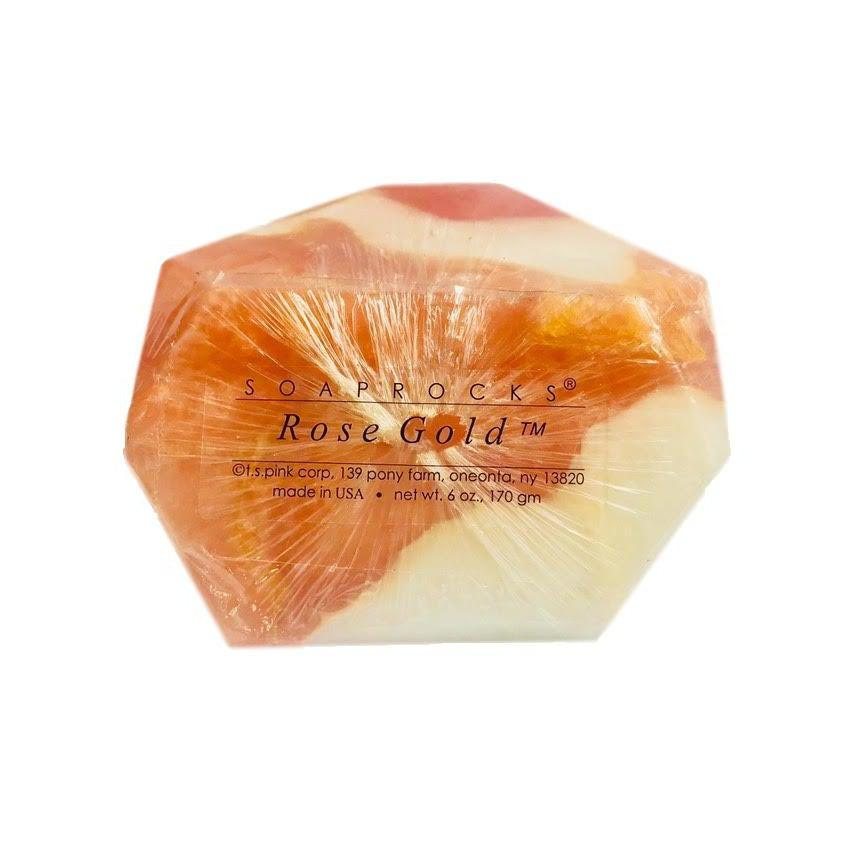 T.S. Pink Soap Rocks - Rose Gold-T.S. Pink SoapRocks-Oak Manor Fragrances