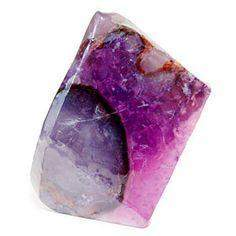SoapRocks - Amethyst Geode-T.S. Pink SoapRocks-Oak Manor Fragrances