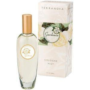 TerraNova Gardenia Cologne Mist-TerraNova Products-Oak Manor Fragrances