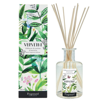 Fragonard Flower of the Year 2018 Verbena (Verveine) Diffuser-Fragonard Parfumeur-Oak Manor Fragrances